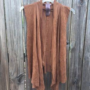 Other - Brown Suede vest